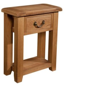 Somerset console table 1 drawer
