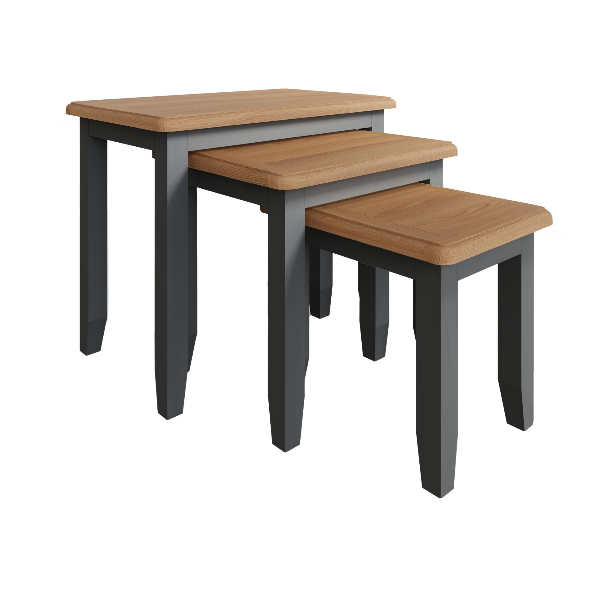 Guildford Grey Nest Of 3 Tables